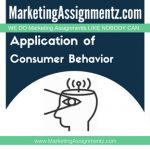Application of Consumer Behavior