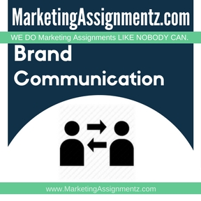 Brand Communication Assignment help