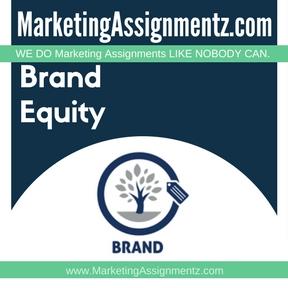 Brand Equity Homework Help