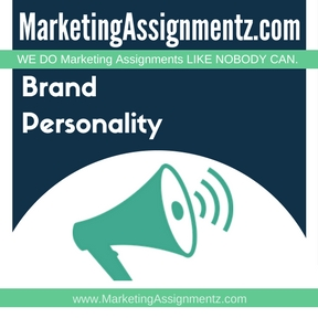 Brand Personality Assignment Help