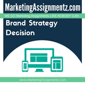 Brand Strategy Decision Assignment Help