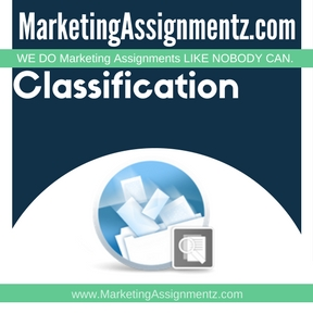 Classification Assignment Help