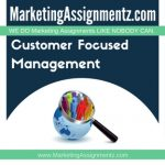 Customer Focused Management