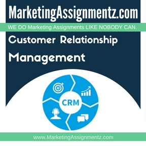 Customer Relationship Management Assignment Help