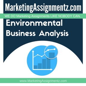Environmental Business Analysis Assignment Help