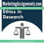 Ethics in Market Research
