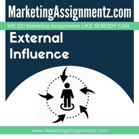 External Influence Assignment Help