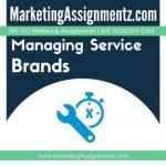 Managing Service Brands