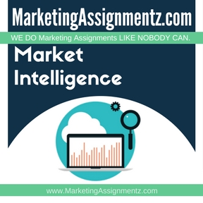Market Intelligence Assignment Help