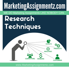 Market Research Techniques Assignment Help