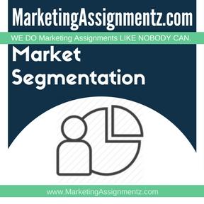 Market Segmentation Homework Help