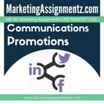 Marketing Communications and Promotions