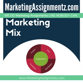 Marketing Mix Assignment Help