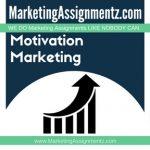 Motivation Marketing