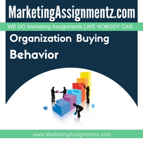 Organization Buying Behavior Assignment Help