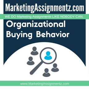 Organizational Buying Behavior Assignment Help