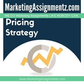 Pricing Strategy Assignment Help