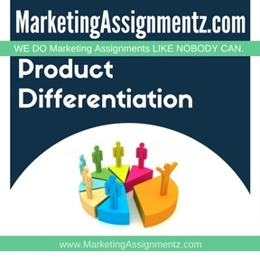 Product Differentiation Assignment Help
