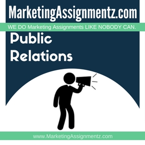 Public Relations Assignment Help