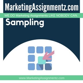 Sampling Assignment Help