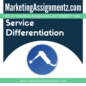 Service Differentiation Assignment Help