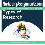 Types of Market Research
